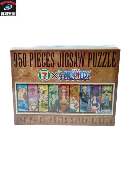 ワンピース セブンイレブン ジグソーパズル 950ピース【中古】[▼]