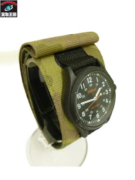STUSSY ステューシー U.S HACK WATCH/ハックウォッチ クォーツ腕時計【中古】