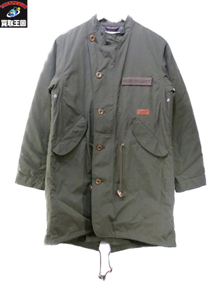 RUDE GALLERY NATION MILITARY COAT 4 17AW【中古】[値下]