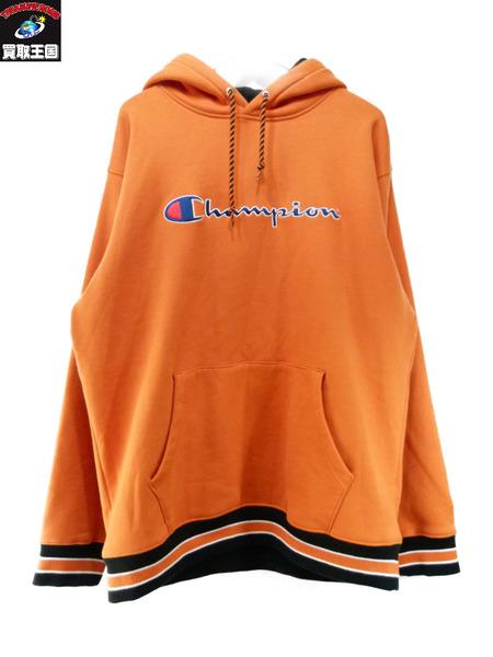 Supreme×Champion Pullover Hooded Sweat XL シュプリーム チャンピオン【中古】
