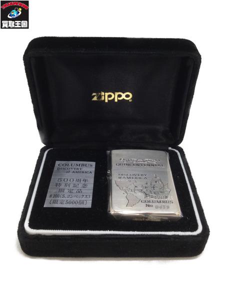 ZIPPO コロンブス 1991年製 500周年特別記念限定品【中古】