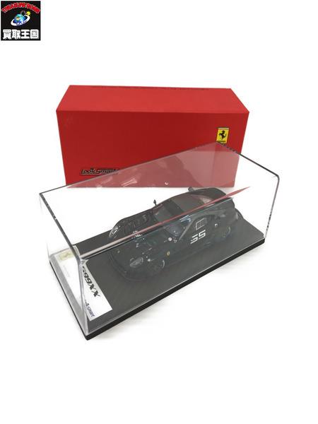 京商 1/43 LOOKSMART Ferrari 599 XX ブラック【中古】