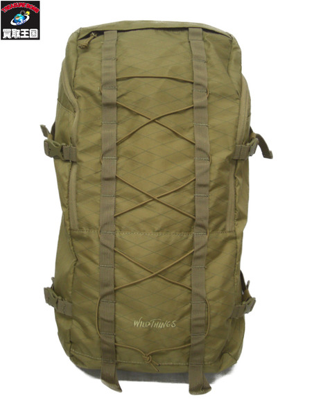 hobo ホーボー X-PAC Nylon Backpack 25L by WILD THINGS【中古】