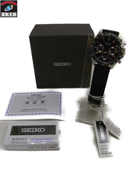 SEIKO セイコー セレクション クロノグラフ SBTR021 8T63-00D0 クォーツ腕時計【中古】