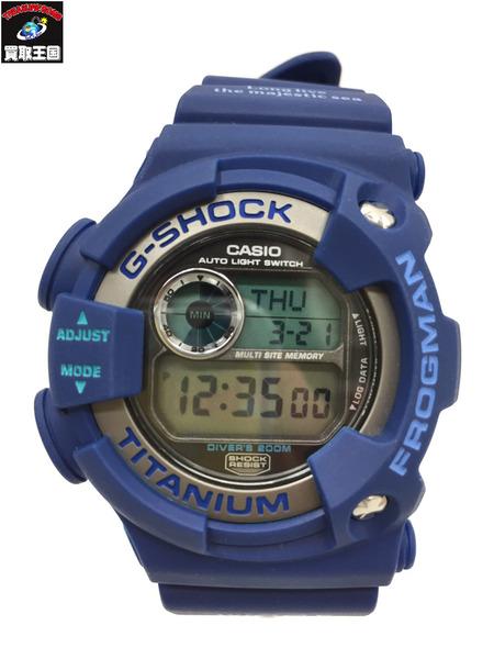 G-SHOCK FROGMAN 2000年 WCCS サンゴ礁モデル 腕時計 青 【中古】