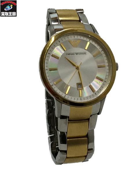 EMPORIO ARMANI AR-2450 クォーツ 腕時計【中古】