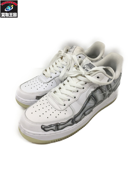 NIKE AIR FORCE 1 07 SKELETON QS 26.0cm BQ7541-100 【中古】