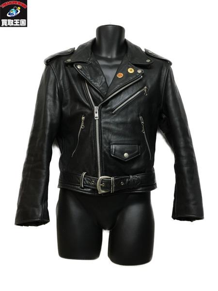 Harley-Davidson ダブルレザージャケット (38)【中古】
