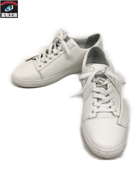 A-COLD-WALL 19SS MULTIPANEL LEATHER SNEAKER WHITE (9)【中古】
