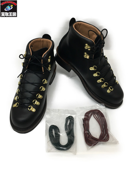 CALEE×Danner 17AW Mountain Light Boots Size9 BLK キャリー×ダナ― マウンテン ライト ブーツ レザーブーツ【中古】[▼]