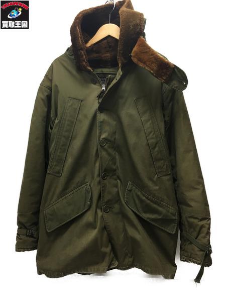 VINTAGE TYPE B-11 40 ミリタリーフライトジャケット TALONジップ オリーブ【中古】