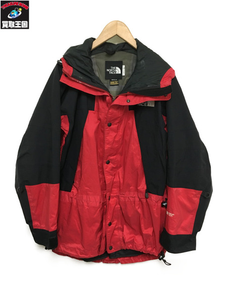 THE NORTH FACE/Mountain Guide Jacket/赤黒/M【中古】