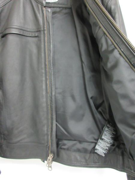 Harley Davidson シングルレザーライダース レザージャケット M BLKZiwkOPuXT