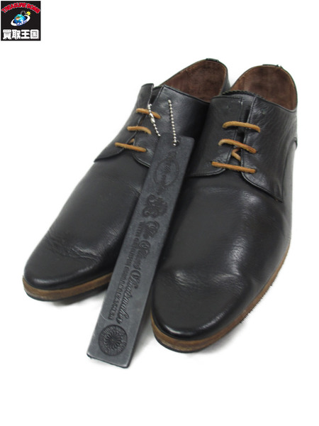 foot the coacher レザートラベリングシューズ(8.5)黒【中古】[▼]