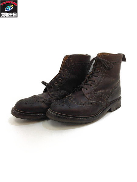Alfred Sargent BROGUE BOOT ブラウン (SIZE:7 1/2)【中古】