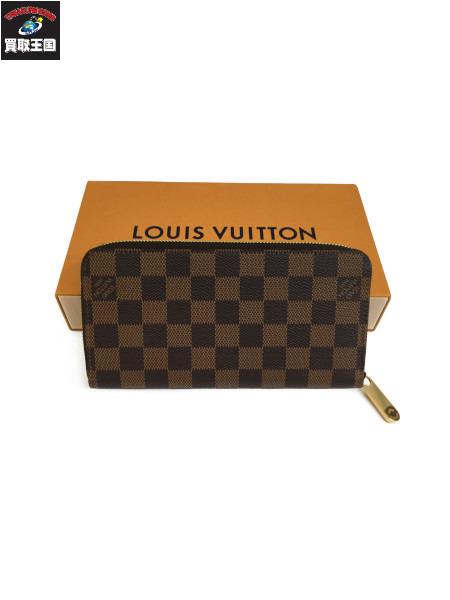 LOUIS VUITTON ルイ・ヴィトン ジッピー・ウォレット  ダミエエベヌ N41661 CA3108  長財布【中古】