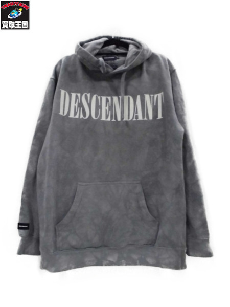 DESCENDANT BLEACH TIE DYE HOODY 1【中古】[▼]