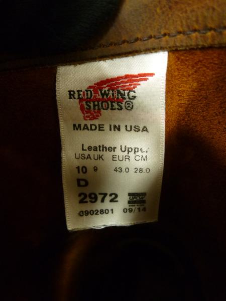 RED WING レッドウィング 2972 エンジニアブーツ USA製 US10 28 0cmQxErdBeoCW