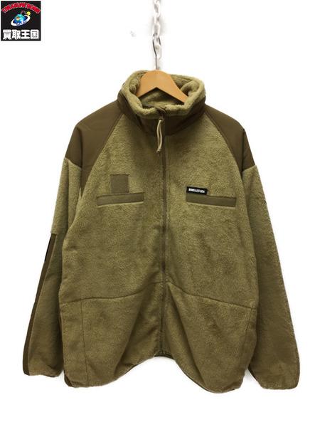 WIND AND SEA 19AW miritary fleece jacket ベージュ XL【中古】