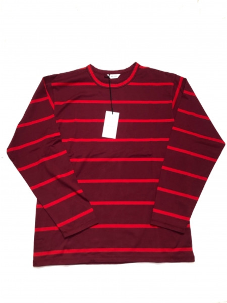 WELLDER Regular Fit Long Sleeve T-Shirts size:4 RED【中古】
