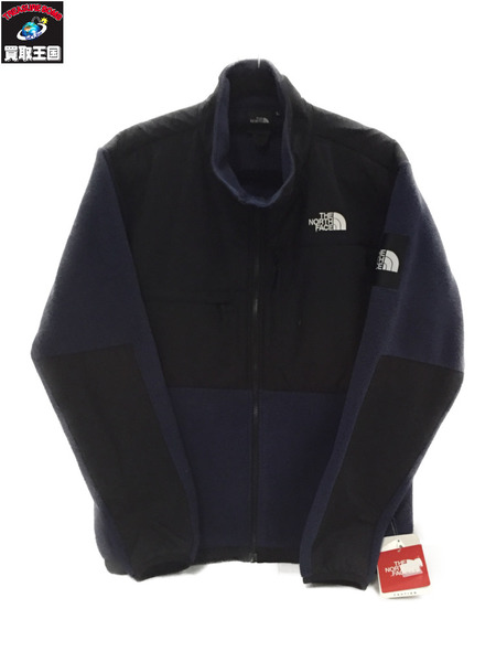 THE NORTH FACE DENALI JACKET フリース ネイビー L【中古】