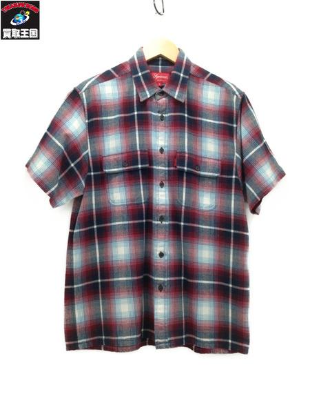 Supreme シュプリーム S/S Plaid Flannel Shirt (S) 16SS【中古】
