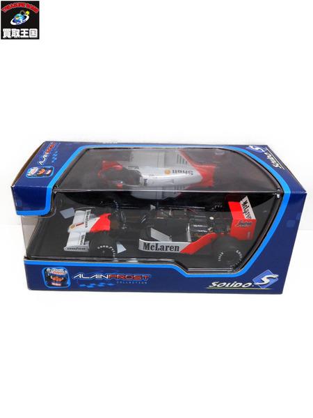 1/18 SOLIDO アラン・プロスト F1 McLaren Mp4/2c Alain Prost【中古】