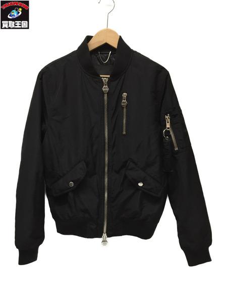 BALR. MAー1 フライトジャケット BLACK SIZE:XS【中古】
