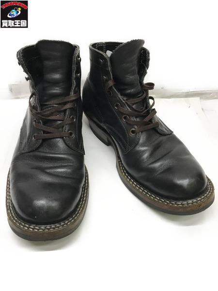 WHITE'SBOOTS セミドレス ブラック WHITE'SBOOTS 8 セミドレス 2 ブラック/1E【中古】, ベップシ:bce5e166 --- itxassou.fr