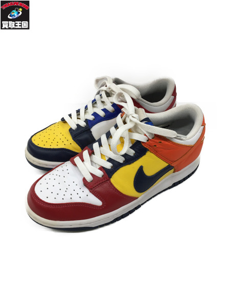 NIKE DUNK LOW JP QS WHAT THE 26.0cm AA4414-400【中古】