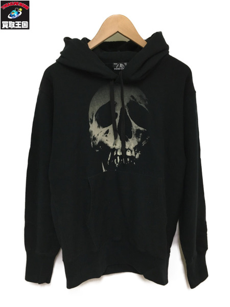 HYSTERIC GLAMOUR/2018ss/SKULL BERRY/プリントパーカー/02181CF08【中古】