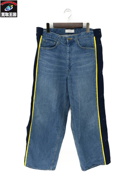 FACETASM ファセッタズム 18SS BASKETBALL DENIM PANTS RB-PT-U03(4) 【中古】[▼]