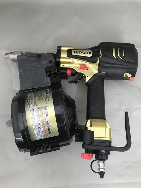 日立工機 90mm高圧ロール釘打機【中古】