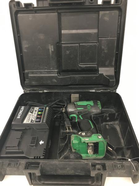 日立 インパクトレンチ バッテリー2個・充電器付き【中古】