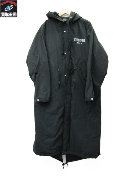 BAGARCH LONG MODS COAT/刺繍モッズコート M 【中古】