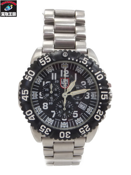 LUMINOX NAVY SEAL STEEL COLORMARK CHRONOGRAPH 3180 SERIES【中古】