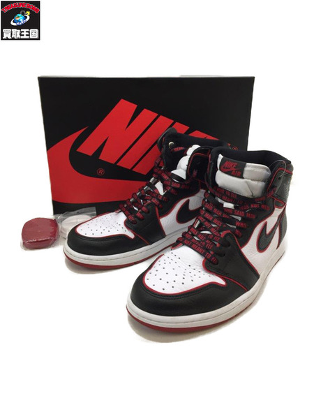 NIKE AIR JORDAN 1 RETRO HIGH OG (28.0cm) BLK【中古】