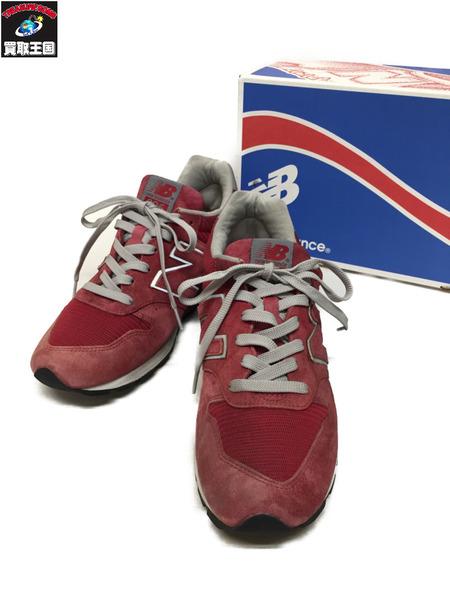 NEW BALANCE 996 USA製 RED (27cm)【中古】