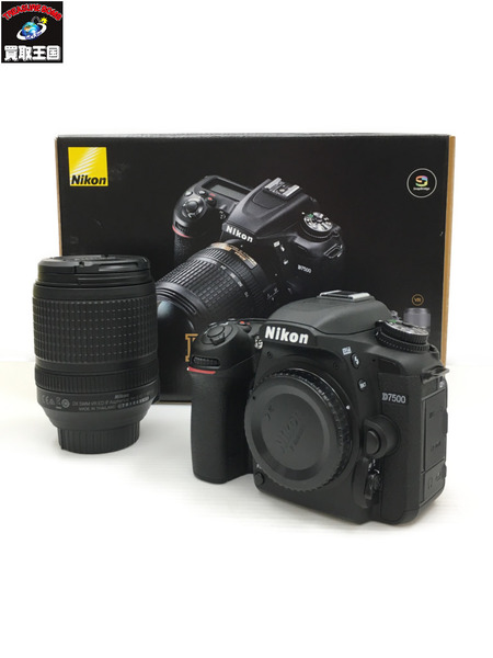 Nikon ニコン デジタル一眼レフ デジイチ D7500 18-140 VR KIT【中古】