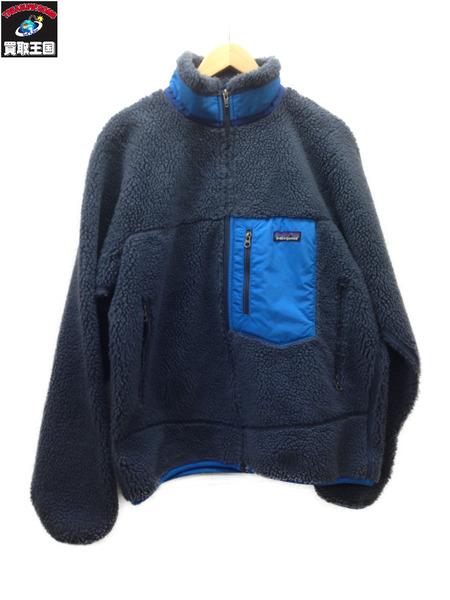 patagonia レトロX フリースジャケット (M) ブルー系【中古】