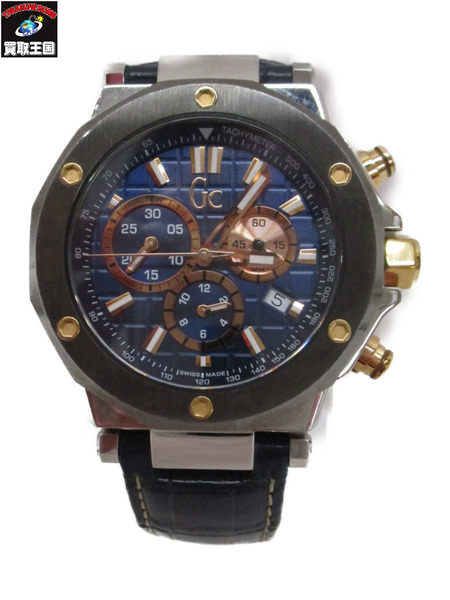 GUESS COLLECTION クロノグラフ X72025G7S【中古】