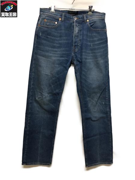VALENTINO Cruise Jeans qv3det0jisu STRAIGHT FIT 32【中古】[▼]