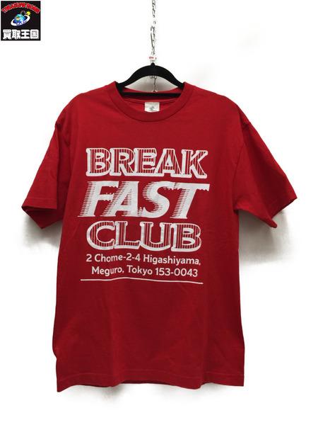 BREAKFAST CLUB×Fergus FERGADELIC S/S Print Tee Red M【中古】[▼]