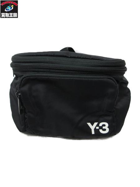 Y-3/ロゴパッカブル ボディバッグ/バックパック【中古】[▼]