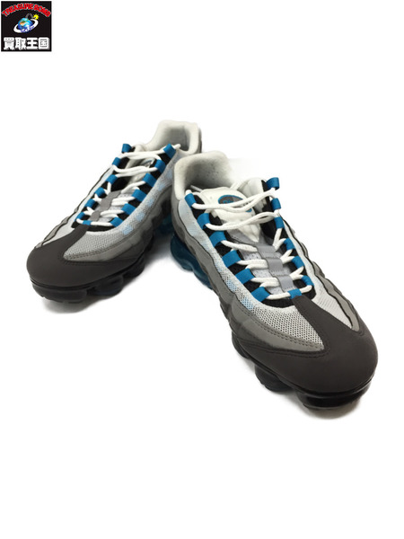 NIKE AIR VAPORMAX 95 FRECH BLUE 27.5cm AJ7292-002 ナイキ エア ヴェイパーマックス95【中古】