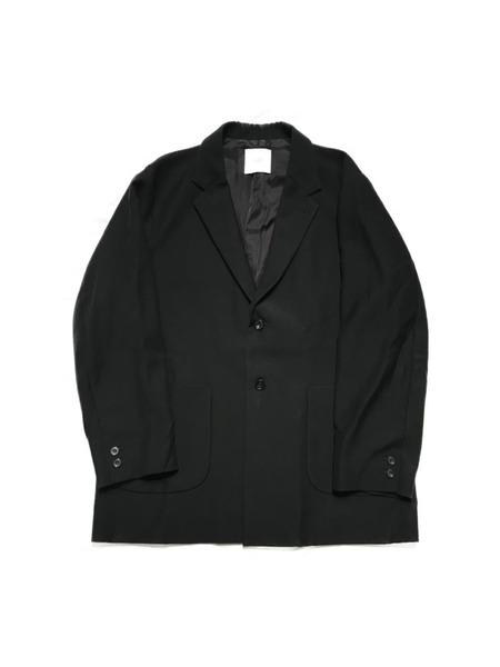 CLANE HOMME クリスタルモヘア2Bジャケット SIZE:2 ブラック【中古】