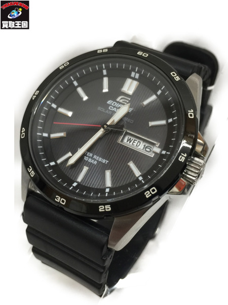 CASIO EDIFICE EFR-100SBBJ カシオ エディフィス ソーラー 腕時計 ウォッチ【中古】[▼]