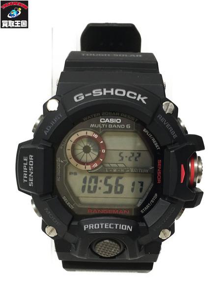 G-SHOCK/GW-9400J/MofG/レンジマン/腕時計/黒【中古】, 特選屋:1b8a95c9 --- officewill.xsrv.jp