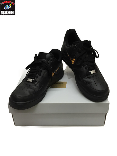 NIKE/LONELY論理/カスタム/AIR FORCE 1 27.5cm 黒【中古】[▼]