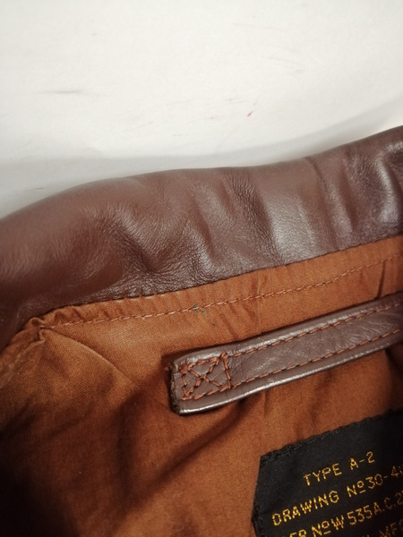 J A DUBOW レザージャケット A 2 38 BRNpqUMGSzV